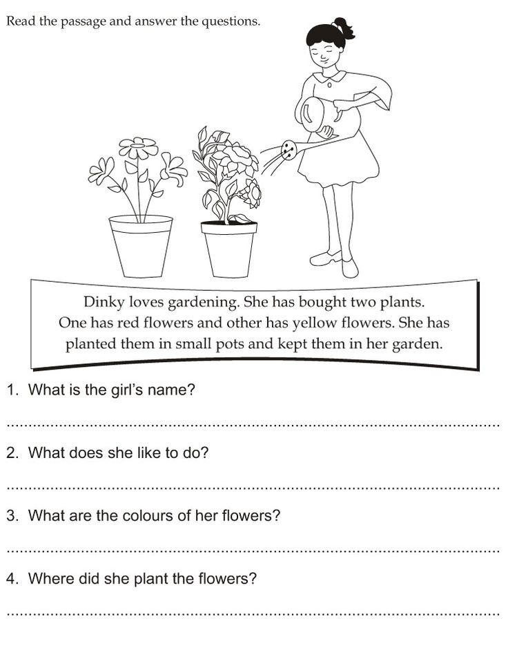 Read the passage and answer the questions | Download Free Read the passage and answer the questions for kids | Best Coloring Pages