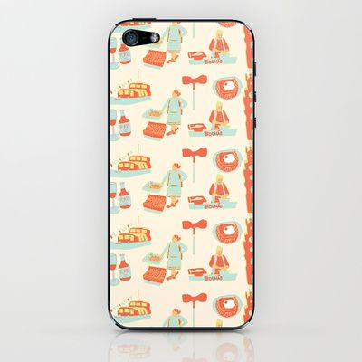 Porto iPhone & iPod Skin by dua2por3 - $15.00
