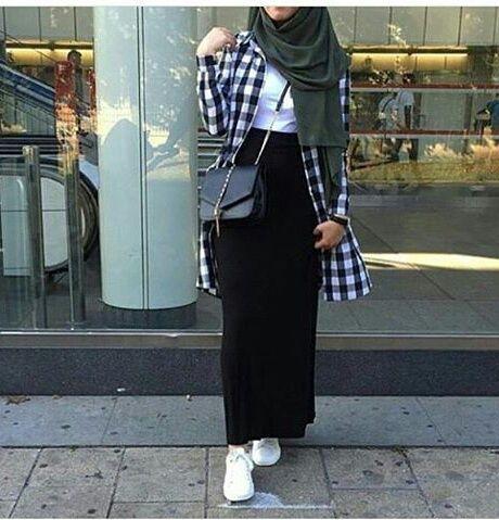hijab fashion and stylé resmi