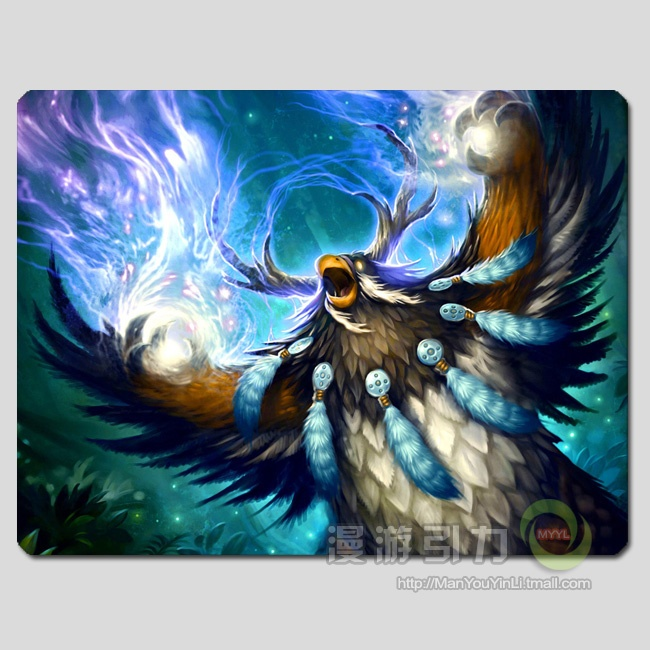 World of Warcraft Druid Moonkin mouse pad MP0025