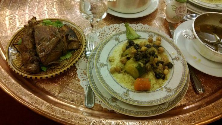 Le couscous du restaurant Le Maroc (Paris 1er)