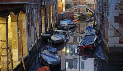 Begini Kondisi Venesia Saat Kekeringan - Balabala10.com