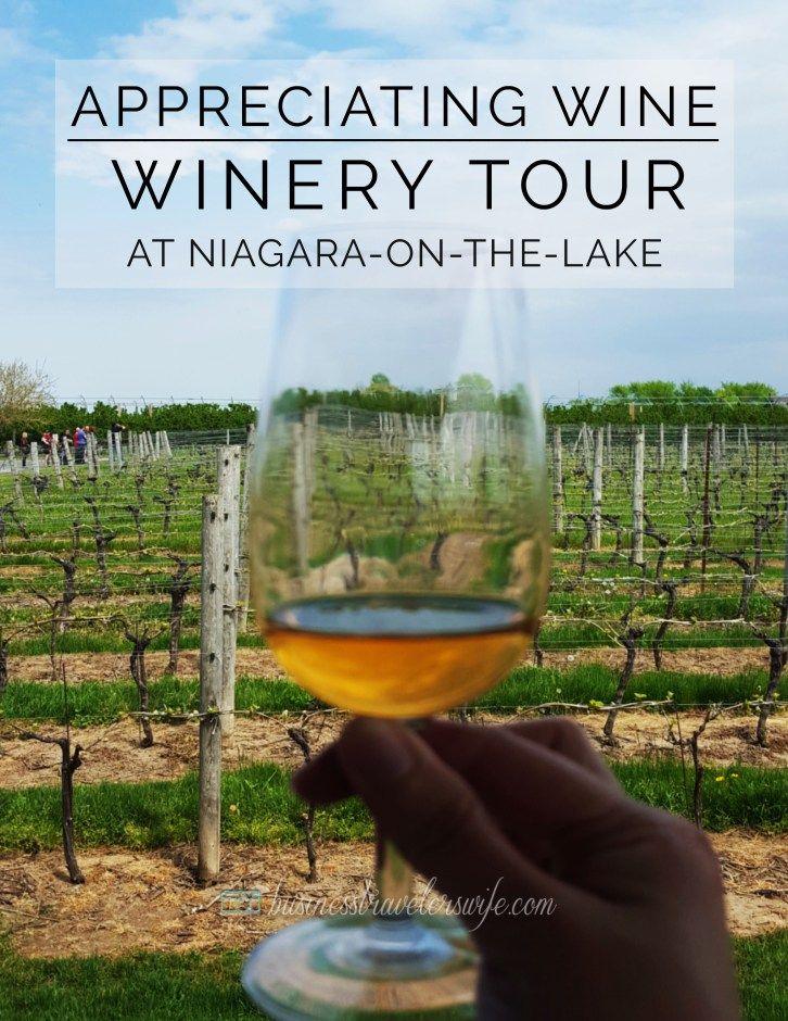 Appreciating Wine: Winery Tour at Niagara-on-the-Lake