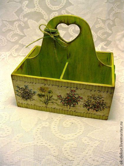 Короб для специй Пряные травы - короб для специй,короб для кухни,короб