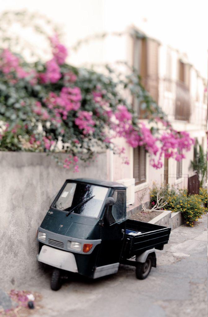 Rinella, Salina, Italy-Jeff's car when we move to Italy!!