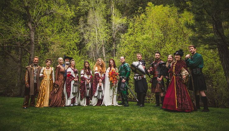 Fantasy wedding: Games of Thrones meets The Lord of the Rings