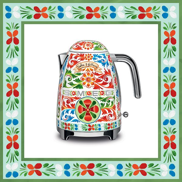Dolce & Gabbana in your kitchen with Smeg -