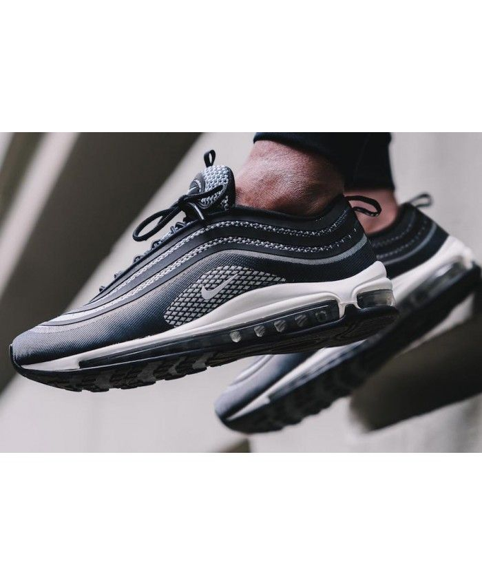 best website e8009 7ce38 Nike Air Max 97 Silver Bullet Pour Le Black