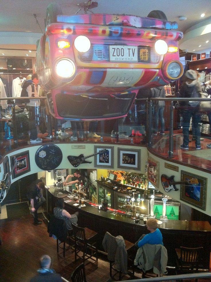 Hard Rock Cafe       I love the shirts!                       Dublin Ierland