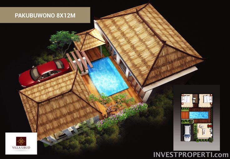 Tipe 8x12 Villa Ubud @ Anyer Serang, Banten.