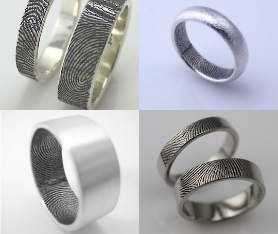 Wedding rings for male couples