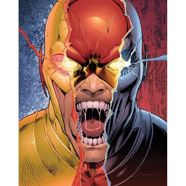 Art: <Dash Martin>  Reverse Flash/Flash/Zoom  #flash#zoom#marvel#dc#art#drawing#artist#comics#manga#anime#cosplay#disney#dccomics#cartoon#movie#otaku#nerd#superman#love#followme#justiceleague#avengers#starwars#batman#spiderman#joker#girl#photooftheday#tv#gamer