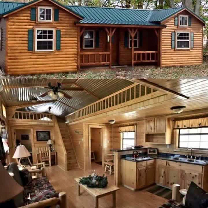 483 best images about master of the house on pinterest for Amish cabin company