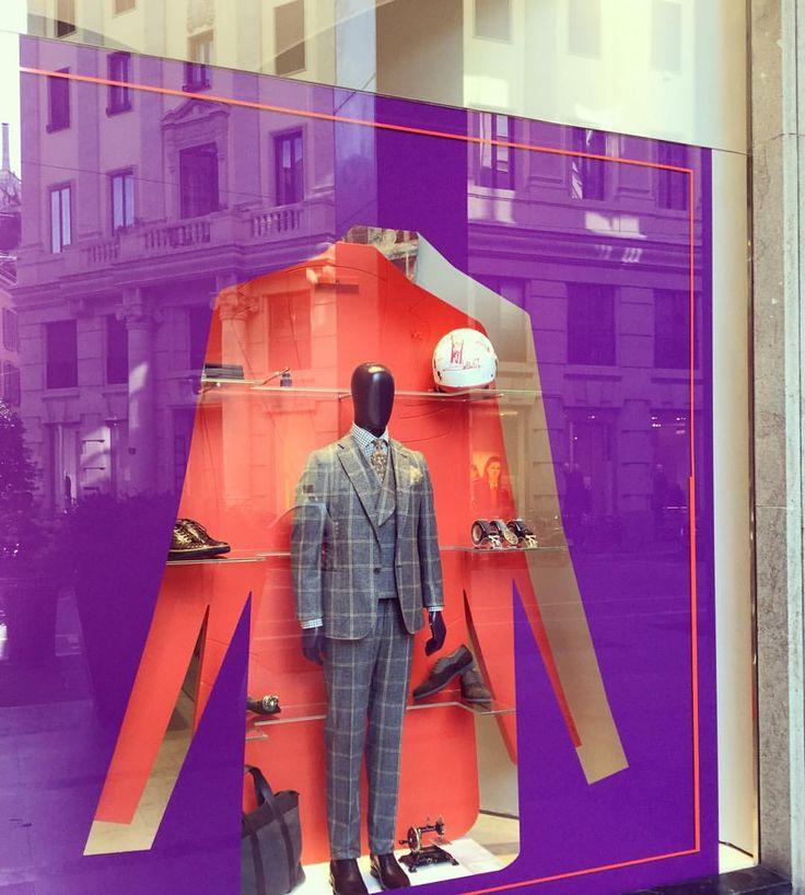 "ISAIA, Via Pietro Verri, Milan, Italy, ""Neapolitan Custom Tailored Suits"", pinned by Ton van der Veer"