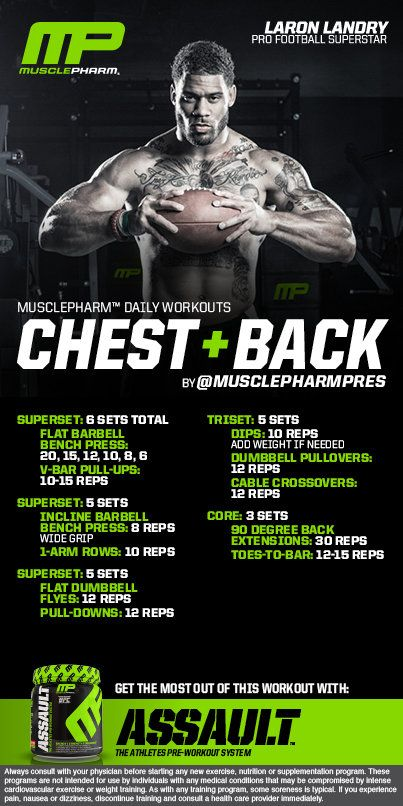 laron landry back and chest - Google Search