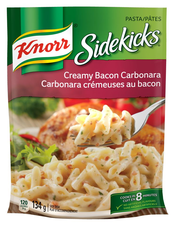 Knorr® Pasta Side Dishes – Creamy Bacon Carbonara