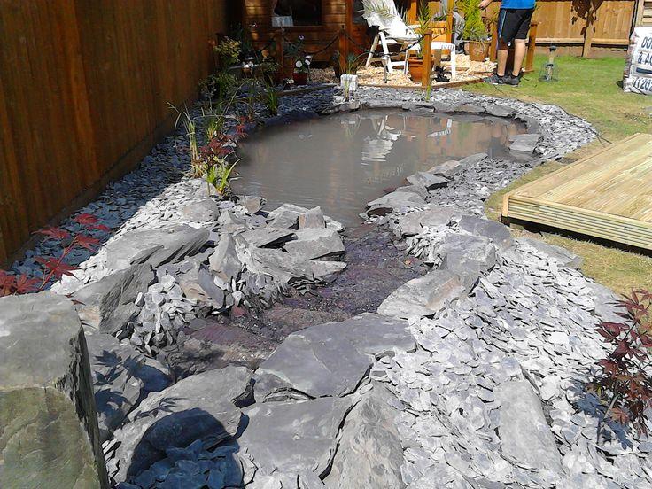 the 8 best small koi pond plum slate images on pinterest koi