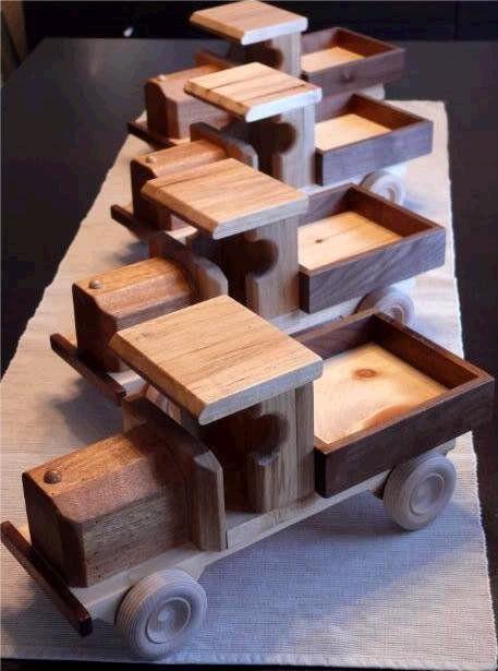 Camiones Para Los chicos - porción RS Woodworks@LumberJocks.com ~ la comunidad párr Trabajar la madera