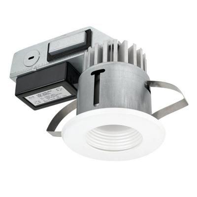 Globe Electric 3 in. IC Rated Energy Star Certified White LED Integrated Sleek Recessed Lighting Kit-90072 - The Home Depot