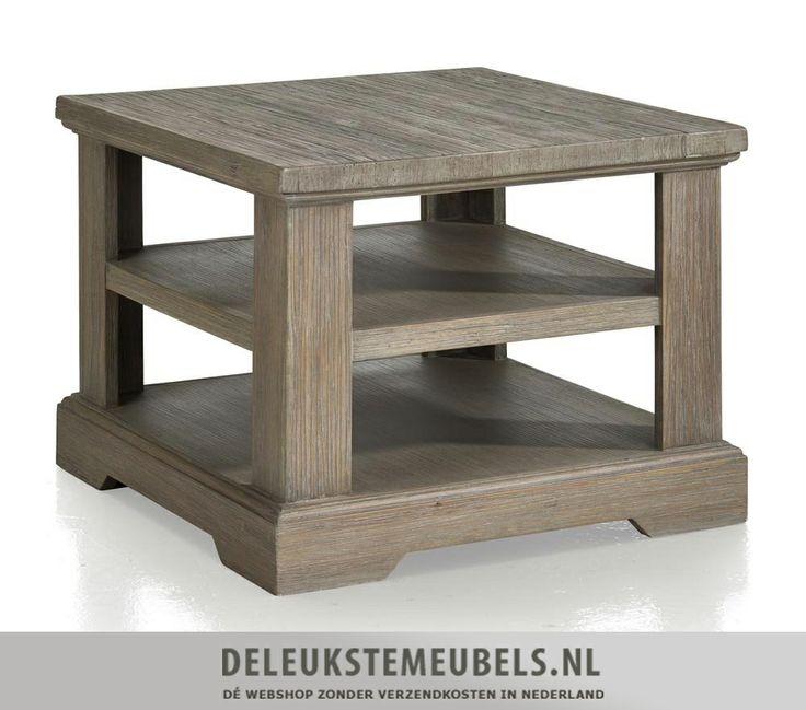 Deze mooie hoektafel Bandon van het merk Happy@Home is prachtig! Hij heeft twee planken waardoor je aardig wat spulletjes kwijt kunt. Ook leuk om deze als salontafel te gebruiken door er bijvoorbeeld twee naast elkaar te plaatsen. Snel leverbaar! http://www.deleukstemeubels.nl/nl/bandon-hoektafel/g6/p1148/