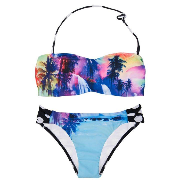 Seafolly Girl Sunset Island Mini Tube Bikini