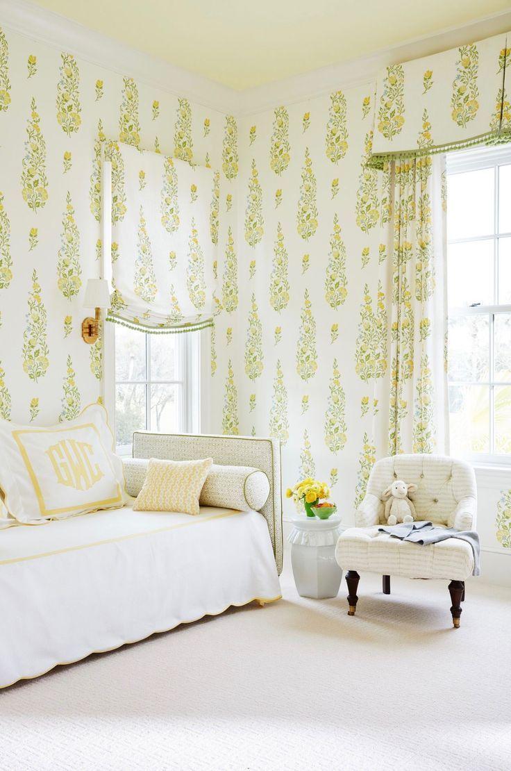 Decorating Goals Andrew Howard Interior Design Childrens Bedroom Wallpaper Interior Design Yellow Bedroom