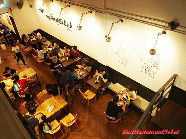 Best Restaurant To Eat - Malaysian Food Blog: My Burger Lab Sunway - Burger With A Passion - Bandar Sunway Petaling Jaya Food