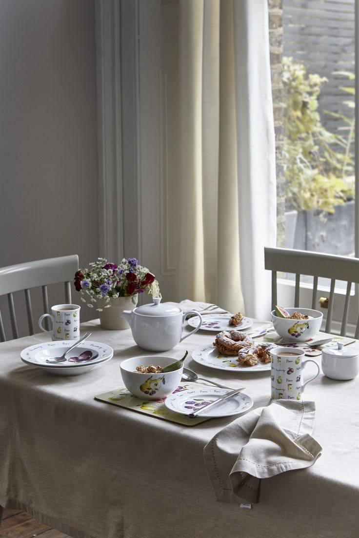 Part Of The Dorset Dinnerware Range This Dinner Set Adds A Delightful Touch To Any Table Setting