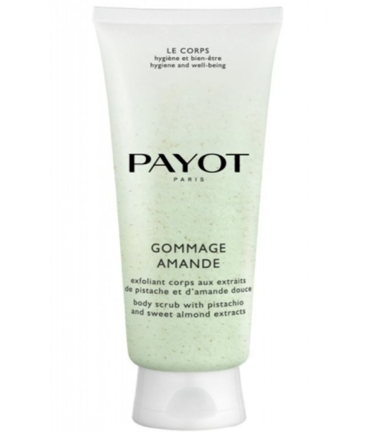 Payot Gommage Amande Peelingcreme 200ml http://www.payot.com/NL/nl/de-producten/lichaamsverzorging/in-detail/gommage-amande