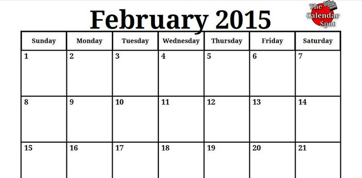 9 Best 2015 Printable Monthly Calendars Images By Training On The Go