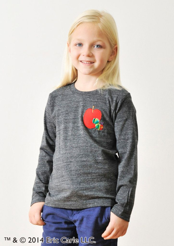 Red Apple Embroidery (Eric Carle) – Design Tshirts Store graniph