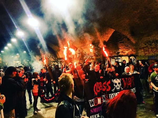 Shoreditch Cereal Killer Cafe targeted by anti-gentrification protesters | UK news | The Guardian