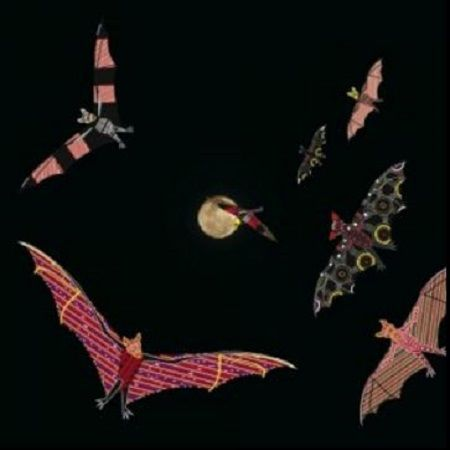 Aboriginal art Megabats, Flying-foxes, Fruit bats