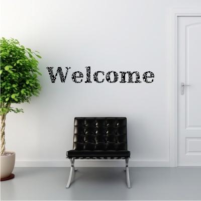 Welcome Wall Decal Cheeky Raskal Wall Decals Pinterest