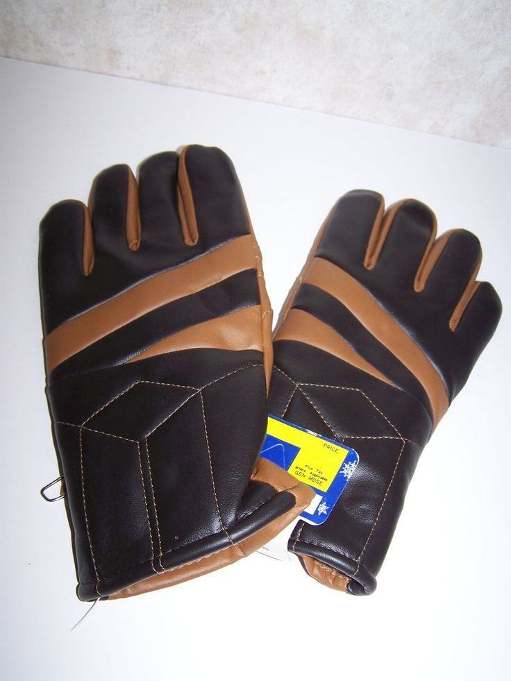 VINTAGE SNOW COUNTRY INC. FITS ALL ADULTS BY AVON SKI GLOVES, MENS ADULTS