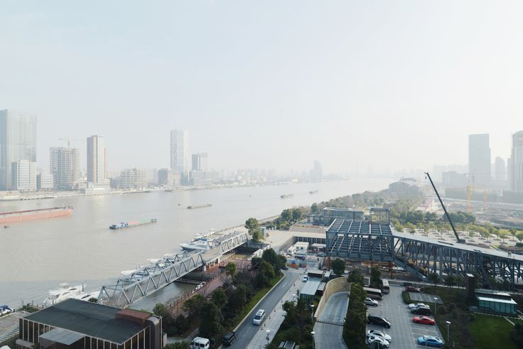 Shanghai LuJiaZui Exhibition Centre. OMA (2014-)
