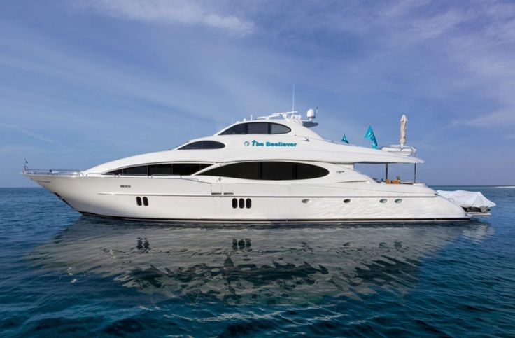 """2005 Lazzara Motor Yacht """"The Beeliever"""" for Sale in the USA"""