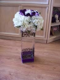 purple and silver centerpieces sweet sixteen - Google Search