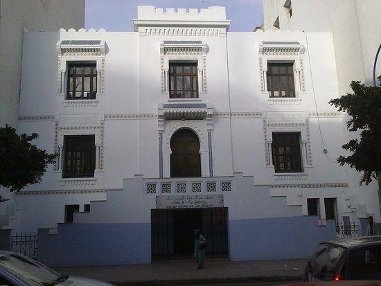 Ville art-deco: Conservatoire de Casablanca