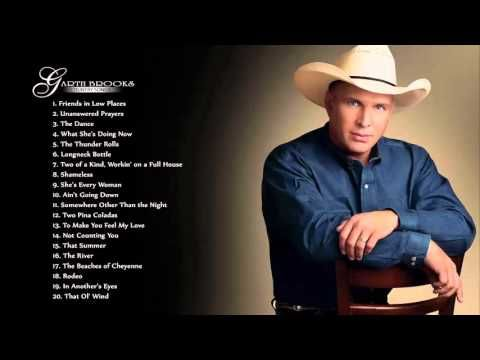 GARTH BROOKS : Garth Brooks Greatest Hits | The Very Best Of Garth Brooks https://youtu.be/QianNs4Lga4