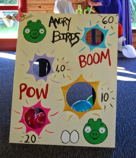 Angry Birds Bean Bag Toss Angry Birds Party