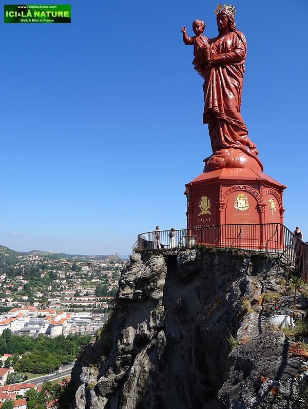 Notre Dame de France. The Way of St.James ( Le Puy Route ) Le Puy-en-Velay, France.