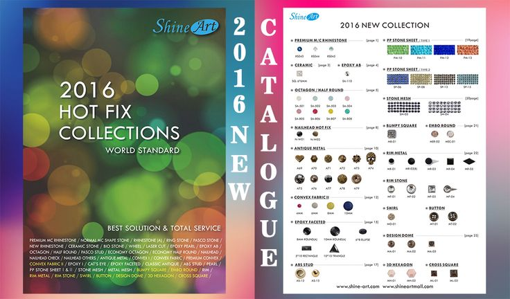2016 NEW CATALOGUE COLLECTION