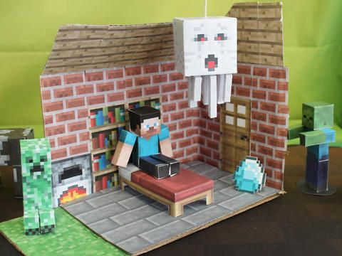 Minecraft Papercraft Studio App Brings Your Computer Creations To Life http://blog.solopress.com/paper-craft/minecraft-papercraft-studio-app/ #Minecraft #papercraft