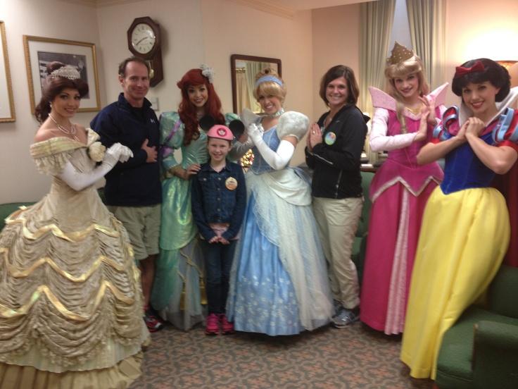 new princess meet and greet at disney world