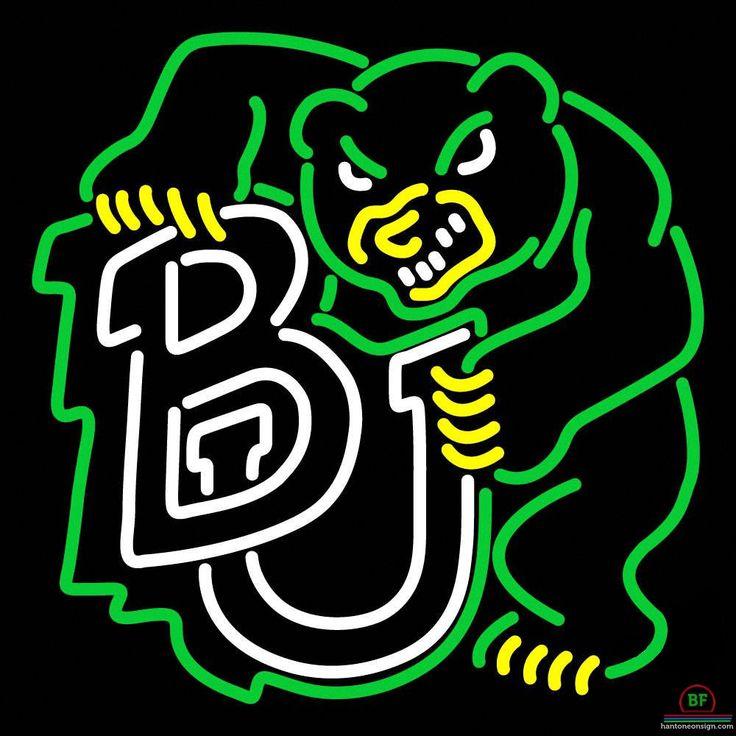Baylor Bears Neon Sign NCAA Teams Neon Light | Neon signs