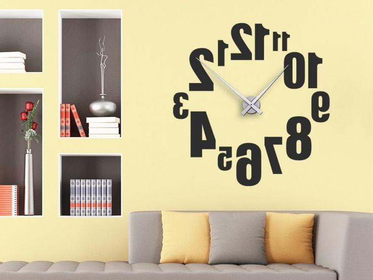 1000 ide tentang wohnzimmer uhren di pinterest wandtattoo uhr deko f r wohnzimmer dan. Black Bedroom Furniture Sets. Home Design Ideas