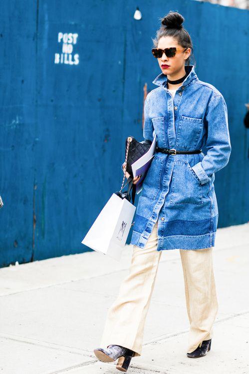 les meilleurs look beaute des street looks de la fashion week automne hiver 16