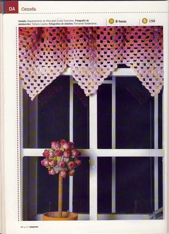 Easy valance curtain with diagram