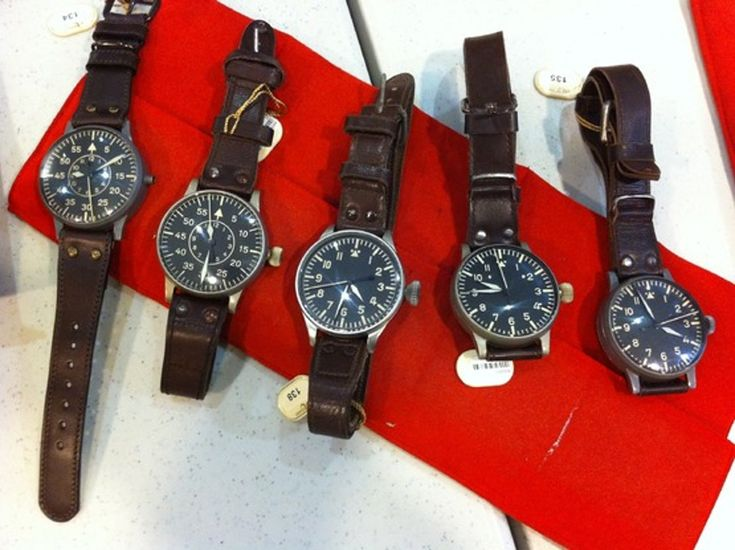 A Fistful of Fliegers Up For Auction: Stowa, Laco, Lange and IWC